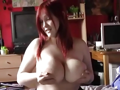 Big Titty German Redhead Girl