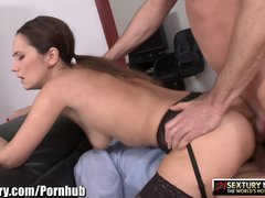 21Sextury Angie gets Double Dicked