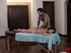 Keisha Grey Gets Fucked By Her Masseur