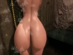 intimate cartoon fantasy with busty mother